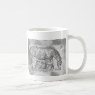Madre y potro taza de café