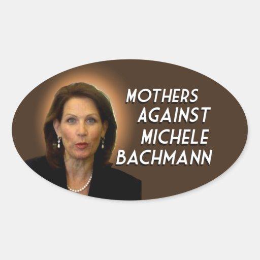Madres contra Micaela Bachmann Pegatina Ovalada