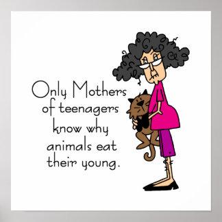 Madres de adolescentes posters