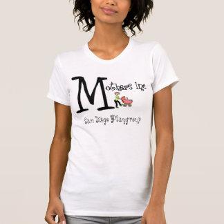 Madres inc., ORGANIZADOR de San Diego Playgroup Camisetas