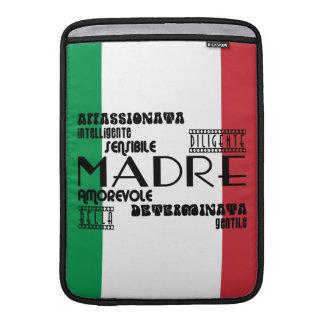 Madres italianas: Calidades Funda MacBook