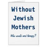 Madres judías tarjeton