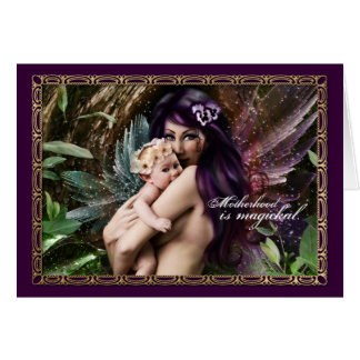 Madres paganas tarjeta de felicitación