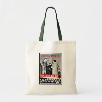 Madres trabajadoras bolsas de mano