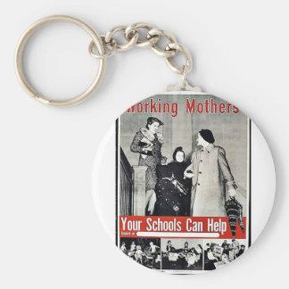 Madres trabajadoras llaveros personalizados