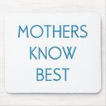 Madres y mamáes (4-6) alfombrillas de ratón