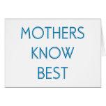 Madres y mamáes (4-6) felicitaciones