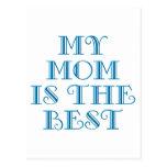 Madres y mamáes (4-6) postal