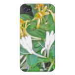 Madreselva floral iPhone 4 carcasa
