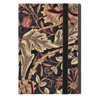 Madreselva, un diseño del vintage de William Morri iPad Mini Cárcasa