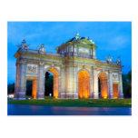 Madrid 001A Postcard