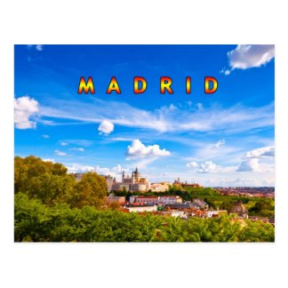 Madrid 02C Tarjeta Postal