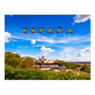 Madrid 02D Postcard