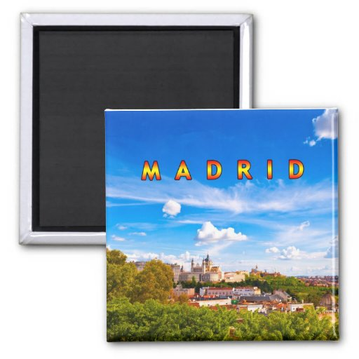 Madrid 02E Fridge Magnets