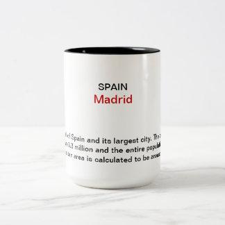 Madrid 2013 Two-Tone coffee mug