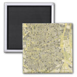 Madrid 2 Inch Square Magnet