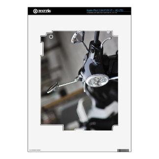 Madrid, black Vespa scooter iPad 3 Skin