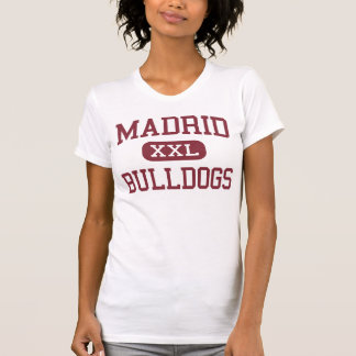 Madrid - Bulldogs - Middle - El Monte California T Shirt