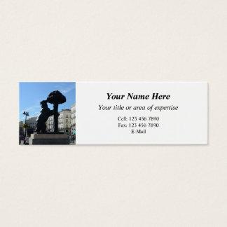 Madrid Business Card
