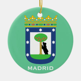 Madrid* Christmas Ornament