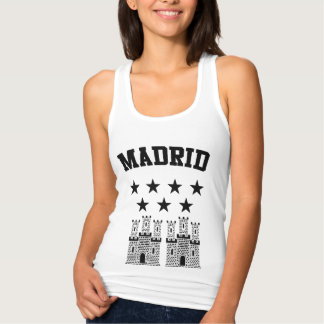 Madrid Coat of Arms Tank Top