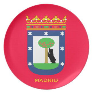MADRID* Collector's Plate
