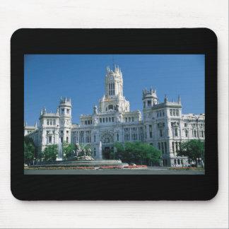 Madrid Communications Palace Mousepads