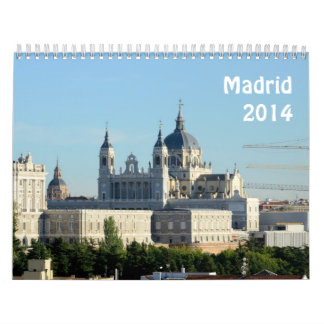 Madrid, España 2014 Calendario