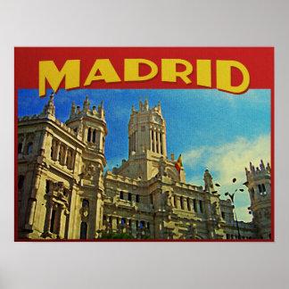 Madrid España Poster