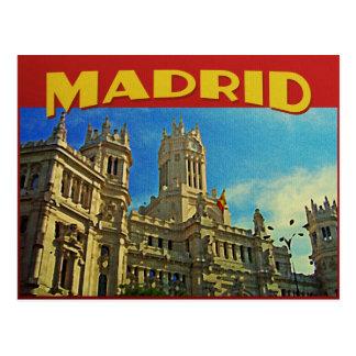 Madrid España Tarjeta Postal