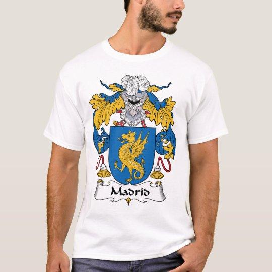 Madrid Family Crest T-Shirt