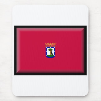 Madrid Flag Mouse Pads