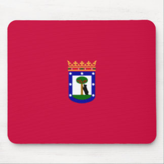 Madrid Flag Mousepad