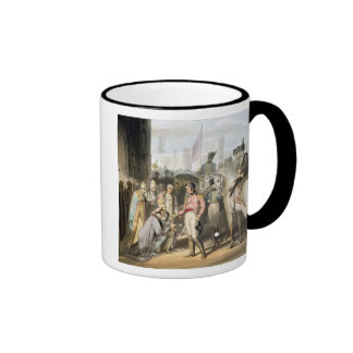 Madrid, from 'The Victories of the Duke of Welling Ringer Coffee Mug