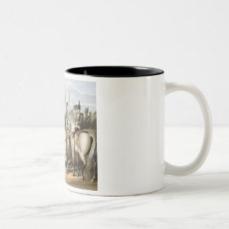 Madrid, from 'The Victories of the Duke of Welling Two-Tone Coffee Mug