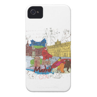 Madrid iPhone 4 Cover