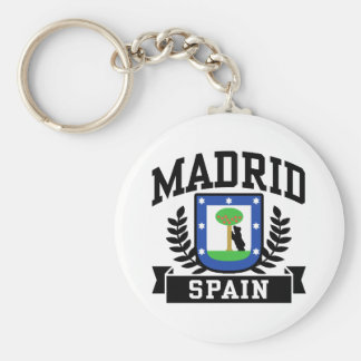 Madrid Keychain