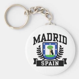 Madrid Llavero Redondo Tipo Pin
