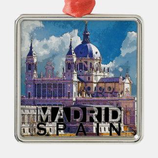 Madrid Metal Ornament
