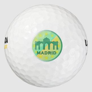 Madrid Pack De Pelotas De Golf