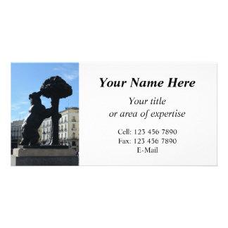madrid photo your info photocard card