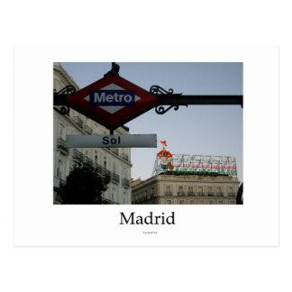 Madrid, Puerta del Sol Postales