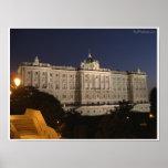Madrid Royal Palace Póster