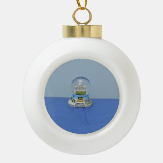 Madrid snowball ornament