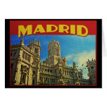 Madrid Spain Cards