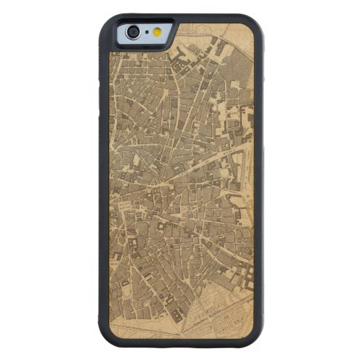 Madrid, Spain Carved® Maple iPhone 6 Bumper