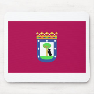 Madrid Spain (City) Flag Mousepads