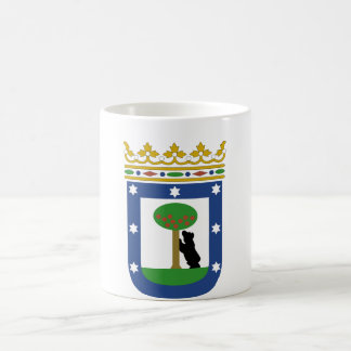 Madrid Spain Coat of Arms Classic White Coffee Mug