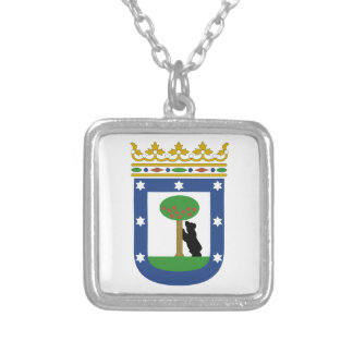 Madrid Spain Coat of Arms Necklace