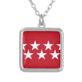 Madrid (Spain) Flag Custom Jewelry
